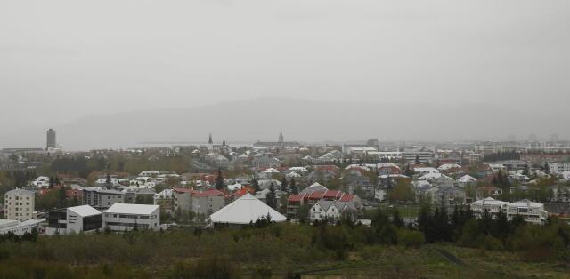 Mistur er yfir höfuðborgarsvæðinu þessa stundina.