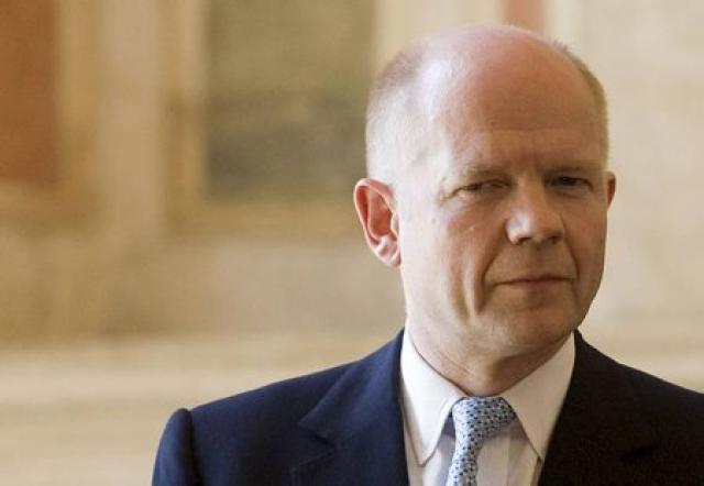 William Hague, utanríkisráðherra Bretlands