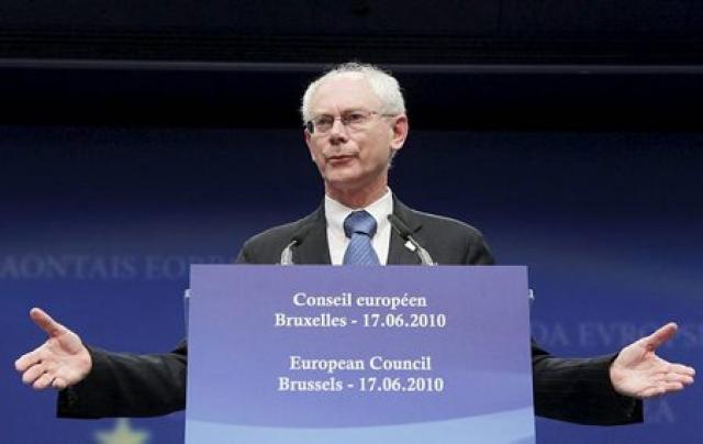 Herman Van Rompuy, forseti Evrópusambandsins