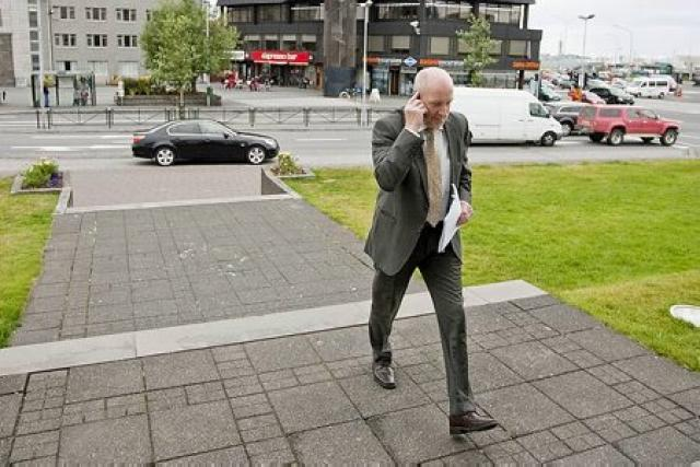 Steingrímur J. Sigfússon.
