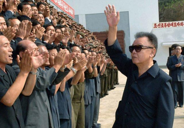 Kim Jong-Il, leiðtogi Norður Kóreu.