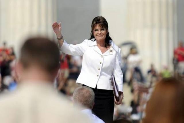 Sarah Palin er ánægð með Trump og Cruz.