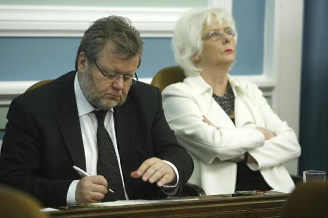 Össur Skarphéðinsson og Jóhanna Sigurðardóttir.