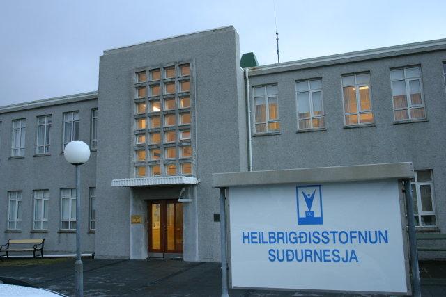 Ökumaðurinn og litla stúlkan voru flutt á Heilbrigðisstofnun Suðurnesja.