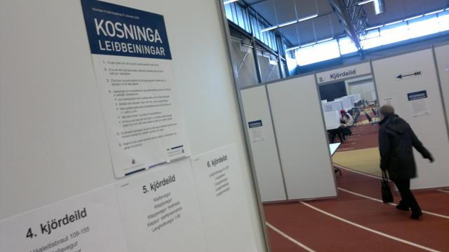 Kosið var til stjórnlagaþings í haust.
