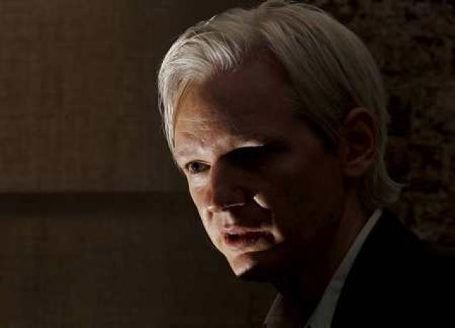 Julian Assange stofnandi WikiLeaks