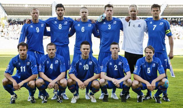 Eiður Smári Guðjohnsen, Stefán Gíslason, Grétar Rafn Steinsson, Bjarni Ólafur ...