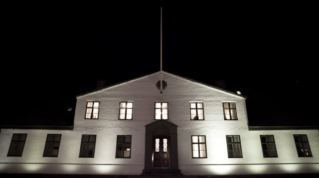 Stjórnarráðshúsið.