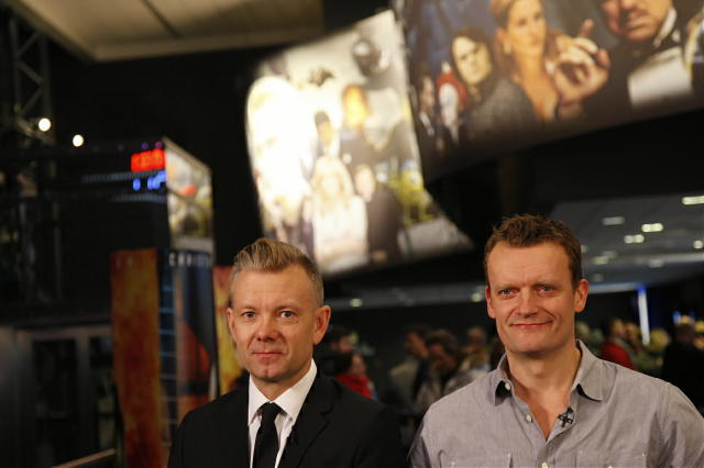 Casper Christiansen og Frank Hvam aðalleikarar Klovn.