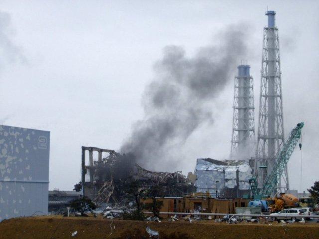 Fukushima kjarnorkuverið í Japan.