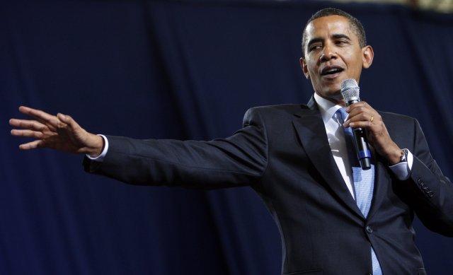 Barack Obama Bandaríkjaforseti.