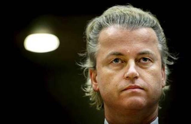 Geert Wilders leiðtogi Frelsisflokksins í Hollandi.