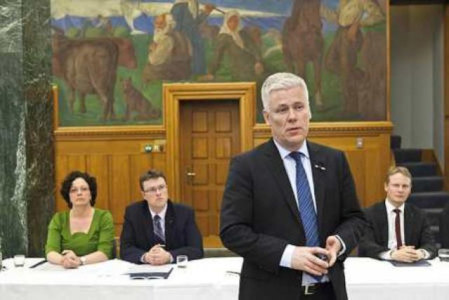 Steinþór Pálsson, bankastjóri Landsbankans.