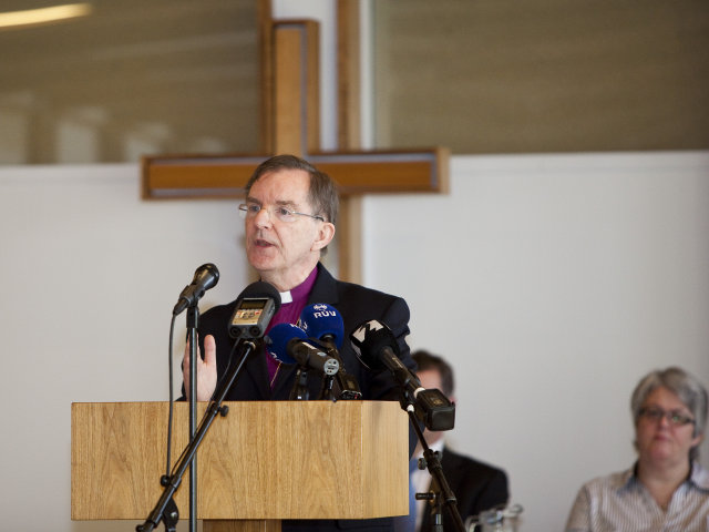 Karl Sigurbjörnsson, biskup Íslands.