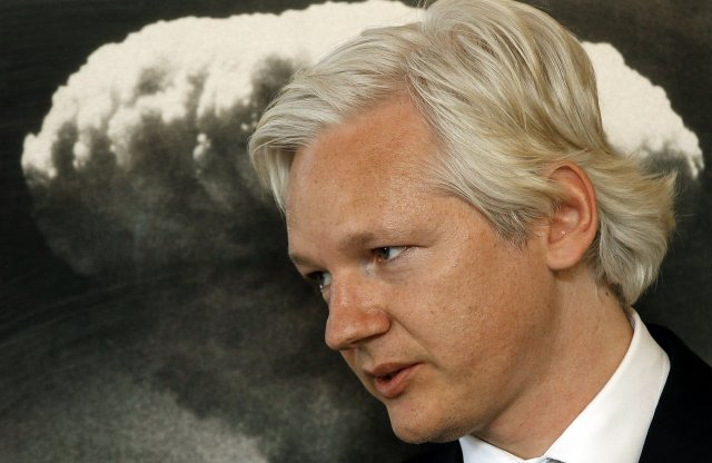 Julian Assange, stofnandi WikiLeaks.