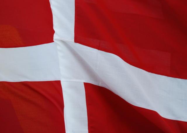 Danski fáninn.
