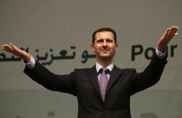 Bashar al-Assad, forseti Sýrlands.