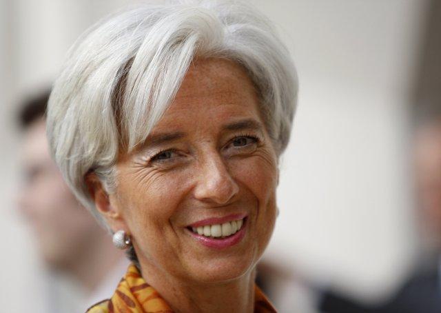 Christine Lagarde, fjármálaráðherra Frakklands.