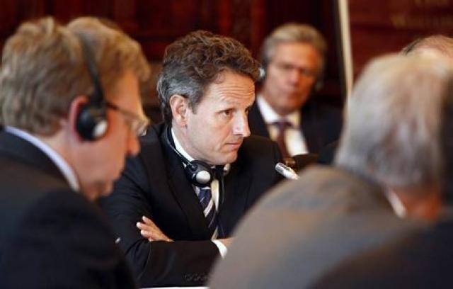 Timothy Geithner, fjármálaráðherra Bandaríkjanna, á G20 fundinum.