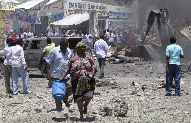 Hætta er talin á hryðjuverkum í Mogadishu á næstunni.