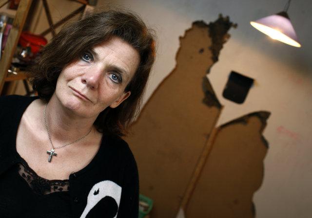 Elísabet Kristín Jökulsdóttir sparar sjálfa sig fyrir helgina.