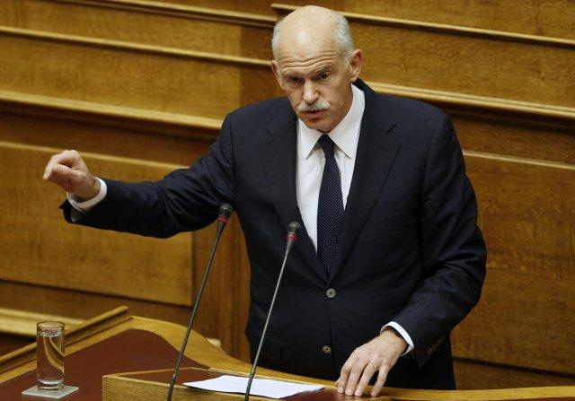 Forsætisráðherra Grikklands George Papandreou