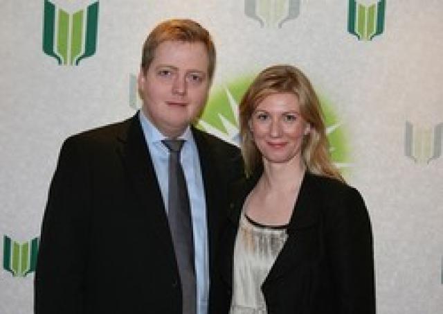 Sigmundur Davíð Gunnlaugsson og Anna Sigurlaug Pálsdóttir. Komið hefur fram ...