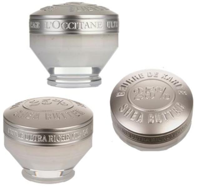 Shea butter andlitskremið frá L'Occitane er ríkt af vítamínum og ...