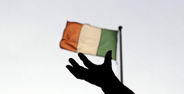 Írski fáninn. Úr myndasafni.