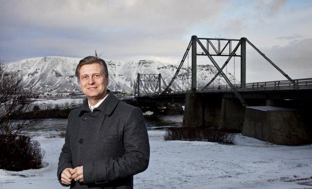 Eyþóri Arnalds er formaður bæjarráðs í Árborg.