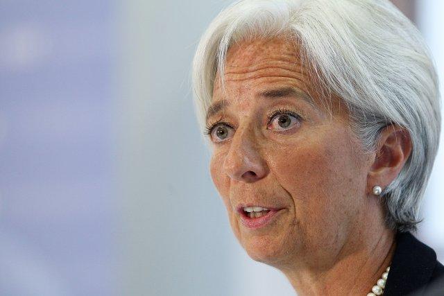 Christine Lagarde, framkvæmdastjóri AGS.
