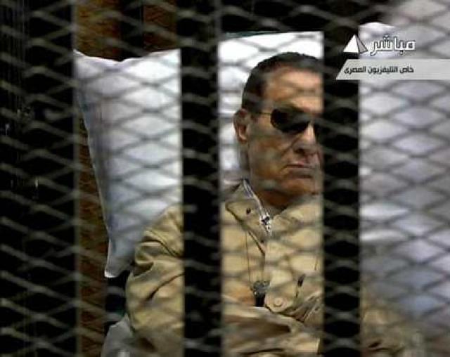 Mubarak var forseti Egyptalands frá 1981-2011.