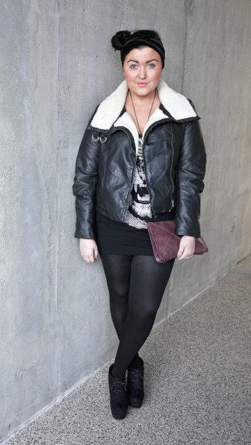 Sara Hlín Hilmarsdóttir tískubloggari.