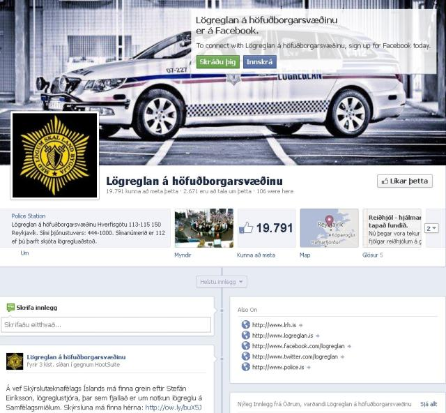 Facebook síða lögreglunnar á höfuðborgarsvæðinu.