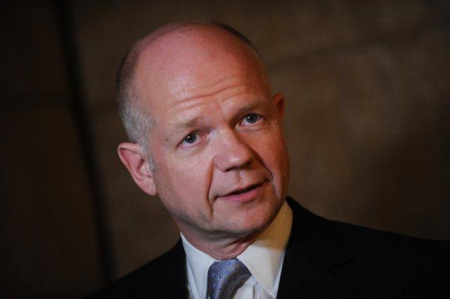 William Hague, utanríkisráðherra Bretlands.