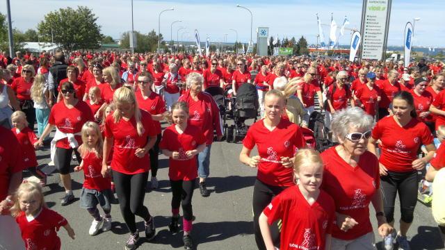 Kvennahlaup Garðabæ 2012