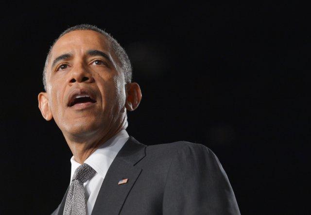 Barack Obama forseti Bandaríkjanna.