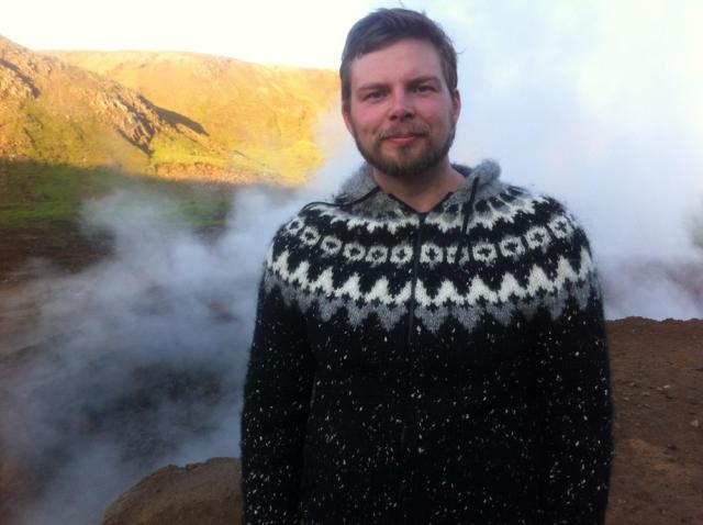 Haukur Guðjónsson framkvæmdastjóri Búngaló.