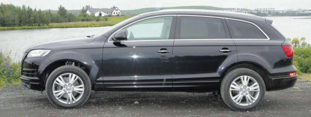 Audi Q7 sver sig í jeppaflóru Volkswagen. Er byggður á ...