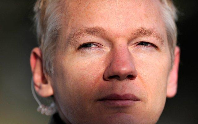 Julian Assange, forvarsmaður Wikileaks.