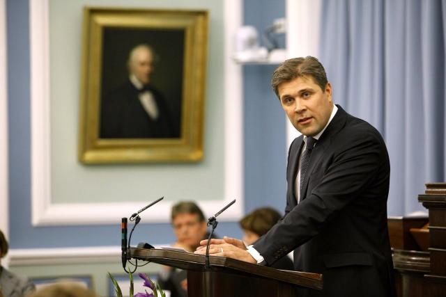 Bjarni Benediktsson, formaður Sjálfstæðisflokksins, á Alþingi.