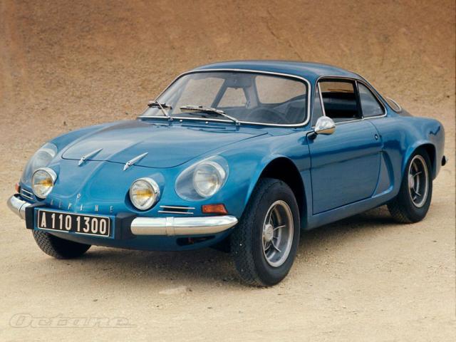 Renault Alpine var sigursæll í rallil á áttunda áratugnum.