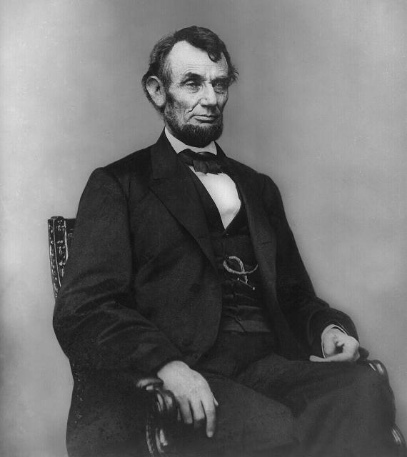 Abraham Lincoln var 16. forseti Bandaríkjanna á árunum 1861-1865.