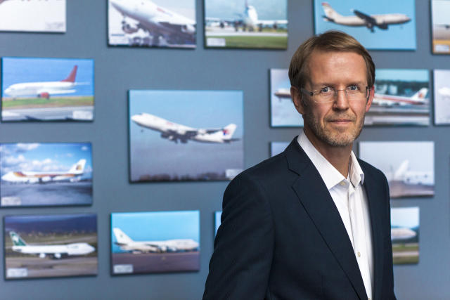 Hannes Hilmarsson, forstjóri Air Atlanta.