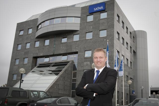 Hermann Björnsson forstjóri Sjóvár