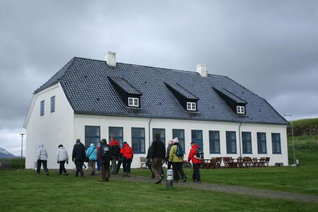 Viðeyjarstofa, built 1752-55.
