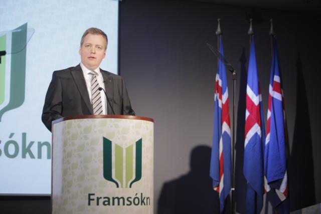 Sigmundur Davíð Gunnlaugsson, fyrrverandi formaður Framsóknarflokksins.