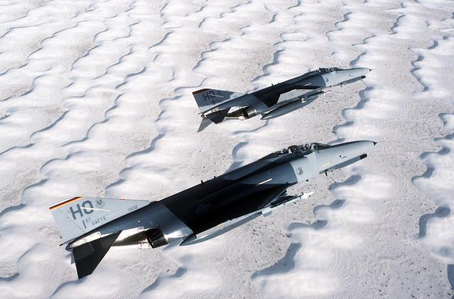 F-4 orrustuþotur þýska flughersins.