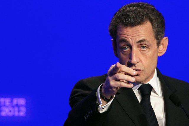 Nicolas Sarkozy, Frakklandsforseti.