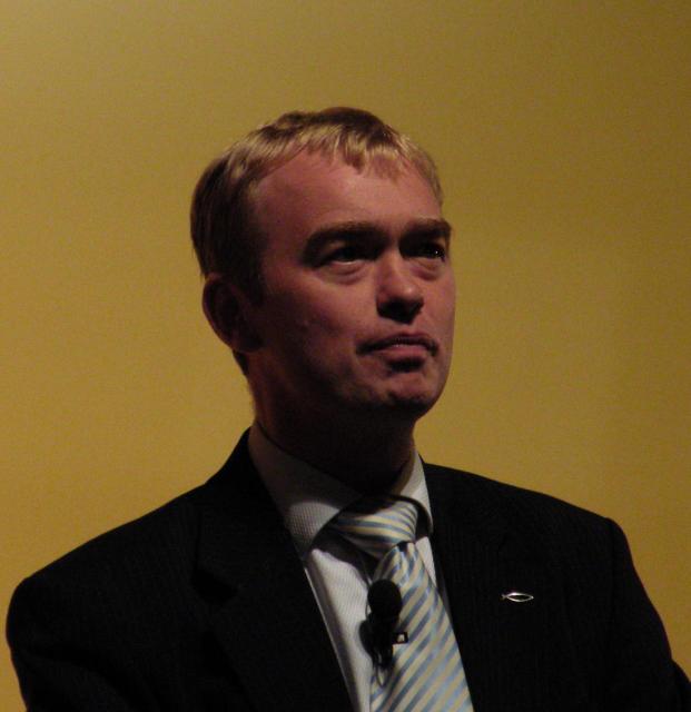 Tim Farron, þingmaður og framkvæmdastjóri Frjálslyndra Demókrata.